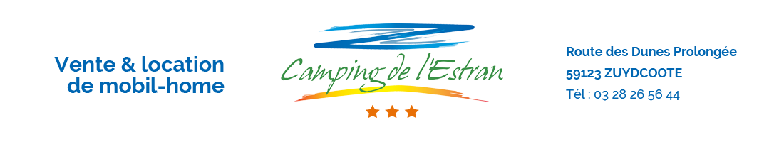 camping estran zuydcoote location mobilhome emplacements de passage